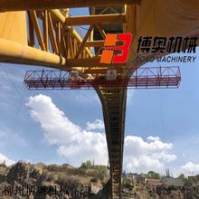 一種可檢測拱橋的施工吊籃平臺