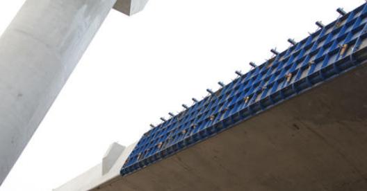 博奧橋梁防撞墻模板臺車