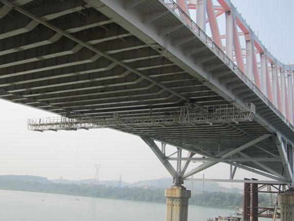 桥梁检测挂篮8