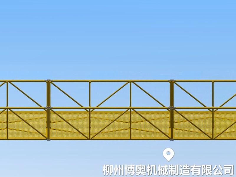 桥梁检修车吊篮 (4)
