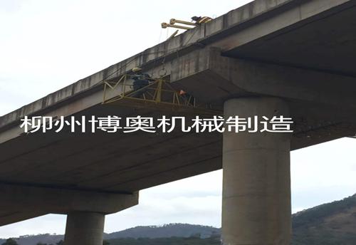 博奧新型橋梁檢修車為什么比大型橋梁檢修車便捷好用?