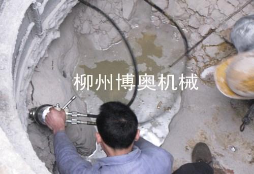 岩石劈裂机的使用维护决定设备的使用寿命