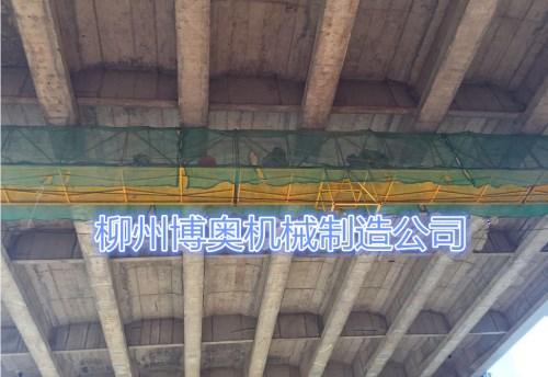 橋梁檢測車保證橋梁梁底高空作業的安全高效