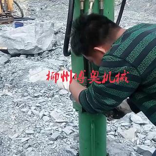 廣西機載劈裂機破石工程案例