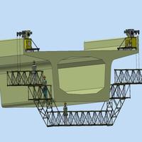 20米桥梁检测车/桥梁维护车