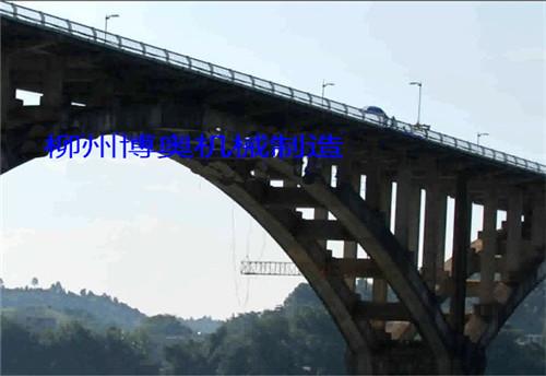 新型橋梁檢測車逐漸取代傳統橋檢車