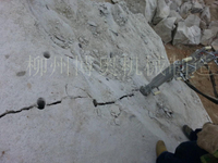矿山破石设备岩石分裂机
