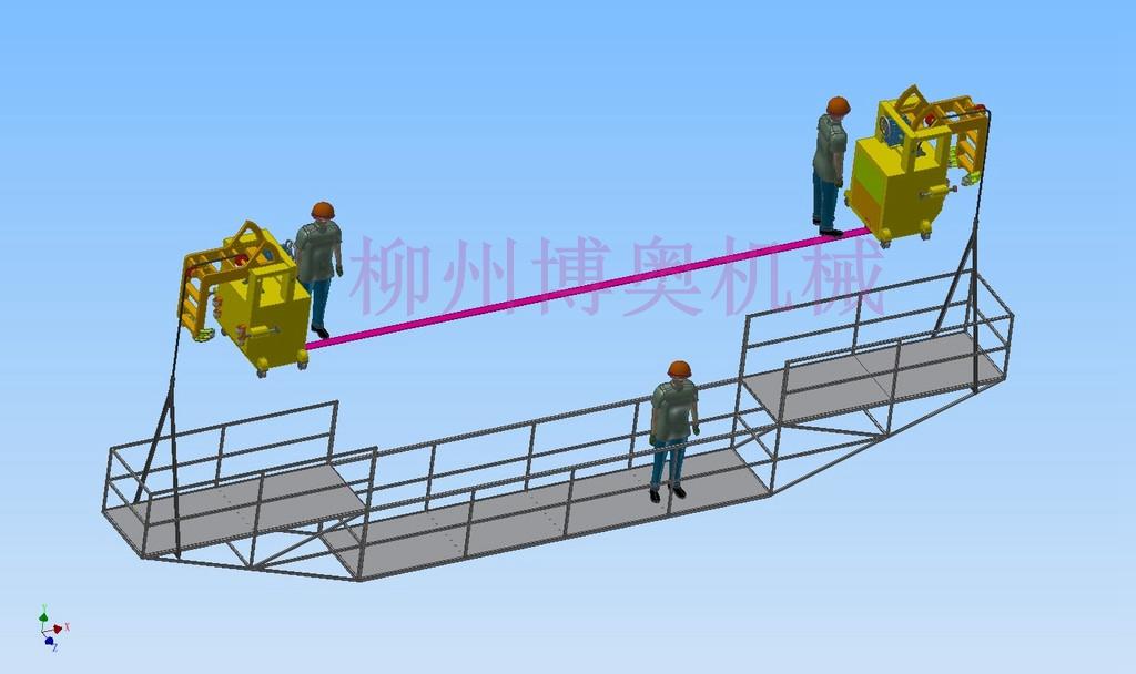 桥梁检修平台
