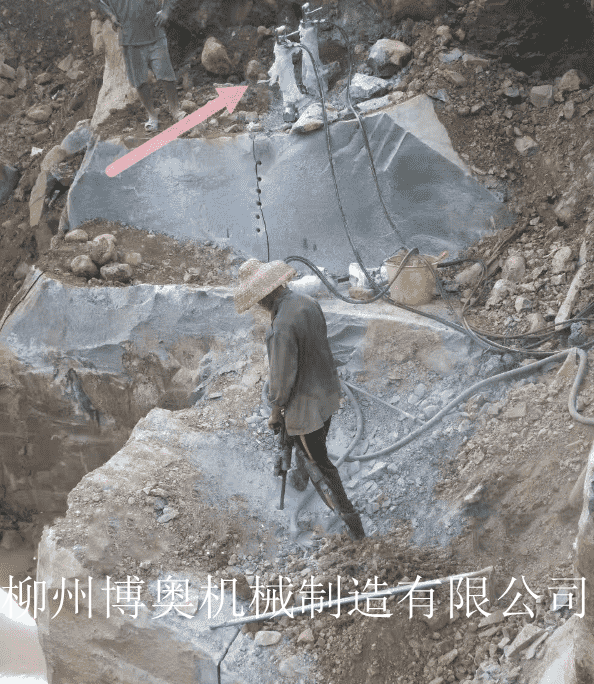 大理石废料清理