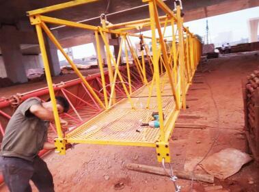 桥梁检测车吊篮