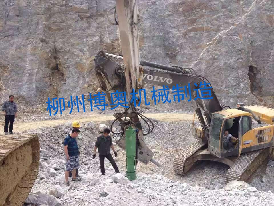 大型挖改劈裂机