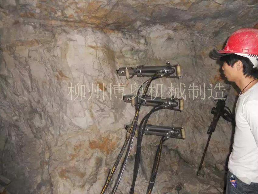 洞采隧道挖掘劈裂机