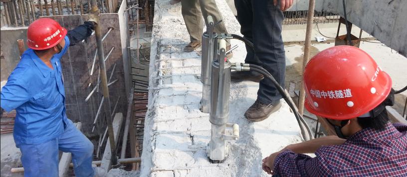 劈裂机破钢筋混凝土
