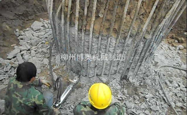 劈裂机破混凝土桩