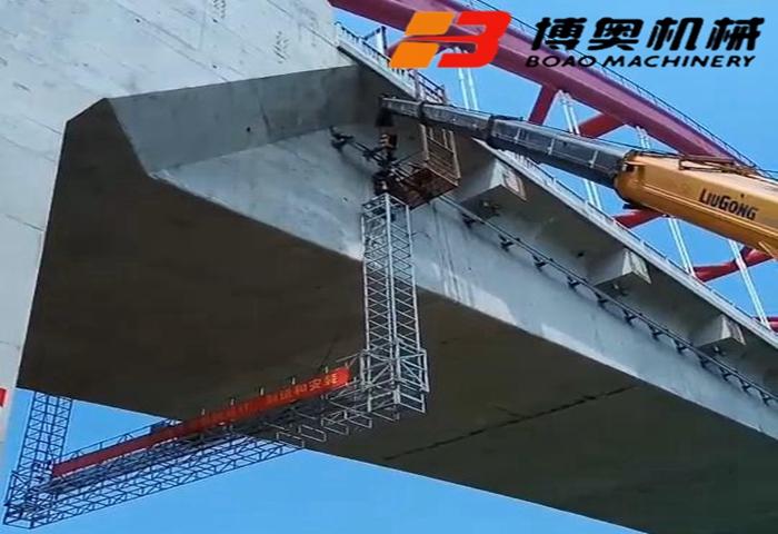 喜訊!商合杭站穎泉高鐵橋檢查車項目圓滿完成