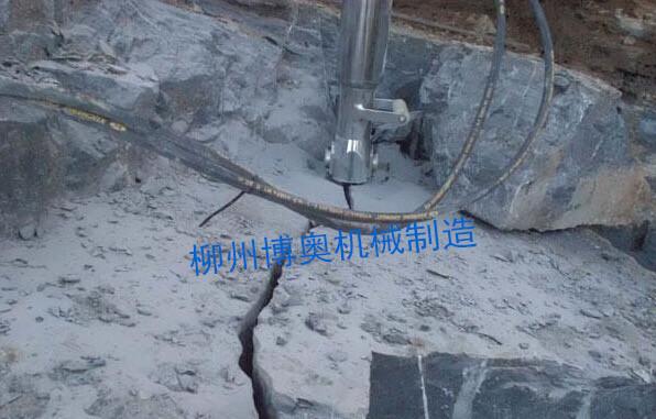 博奧柴油FL90A型液壓劈裂機高效破石