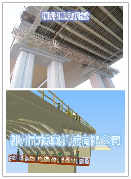 現代熱門流行的新型橋梁檢測車廠家/模樣/特點!