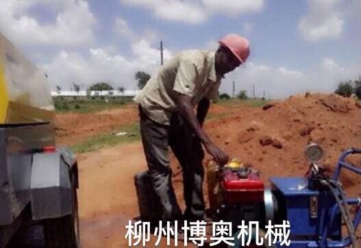 博奥柴油型液压劈裂机高效破石