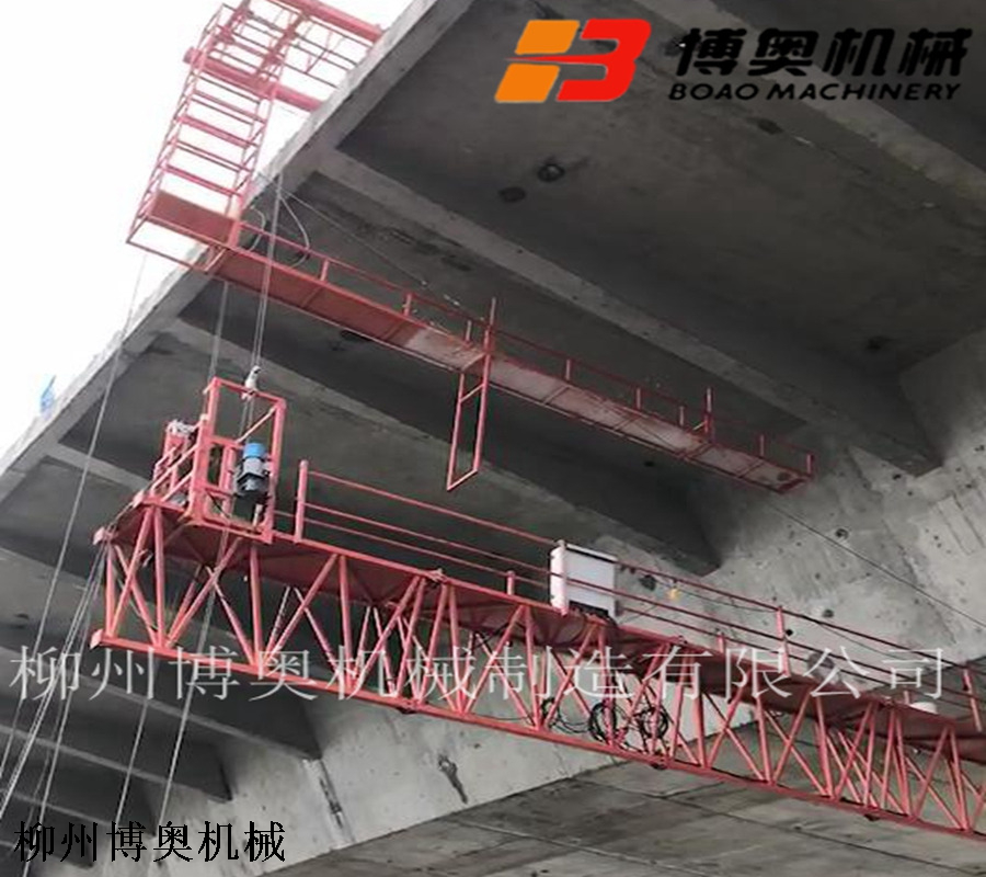 18米公路橋梁檢測特種作業車