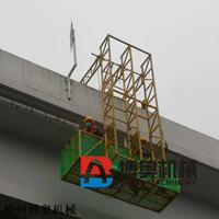 高速橋梁下(排)水管安裝吊籃平臺
