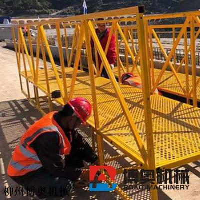 桥底施工设备移动式吊篮平台