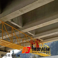 高速路橋梁底施工平臺