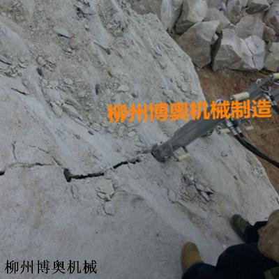 礦山破石設備巖石分裂機