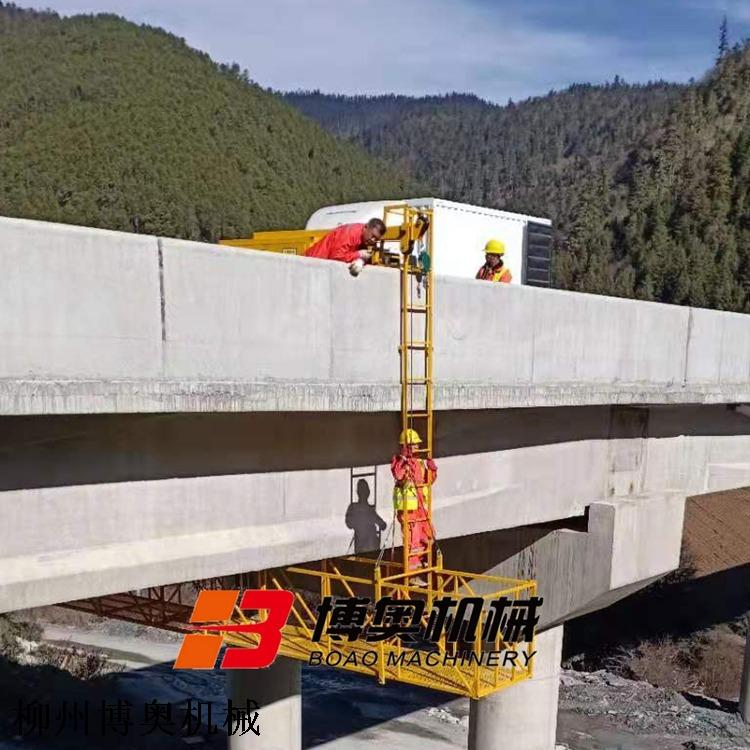 高速桥梁下(排)水管安装吊篮平台