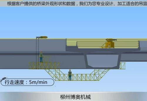 新型橋梁檢測車的目的確保現代橋梁健康安全!